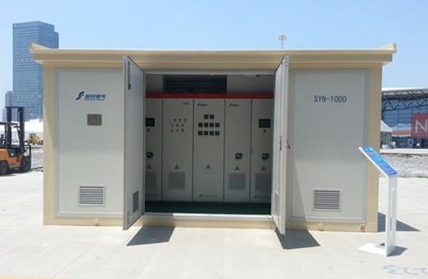 追日电气SNEC展发布1MW光伏逆变器图片